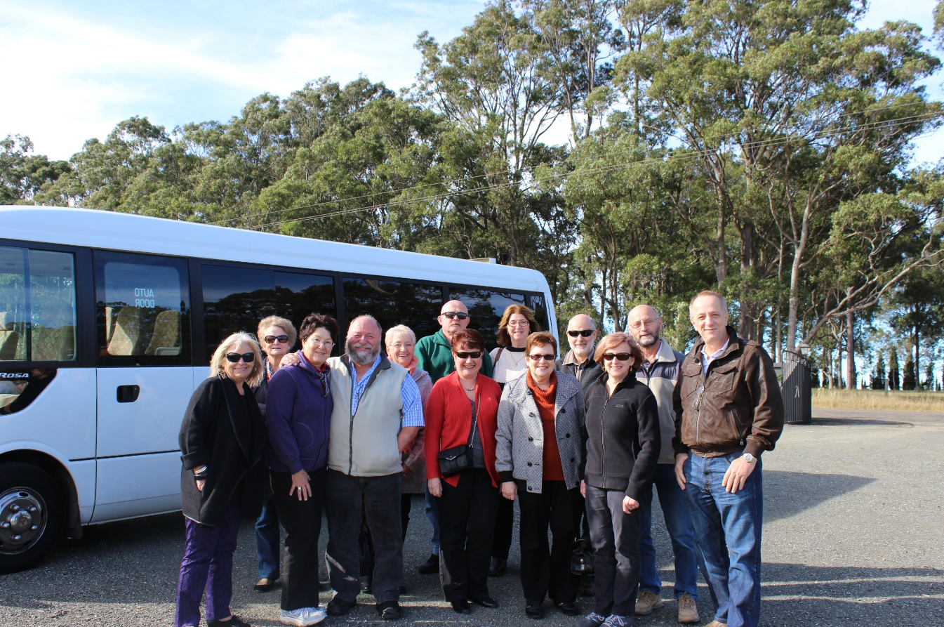 Wine Tour Group photo